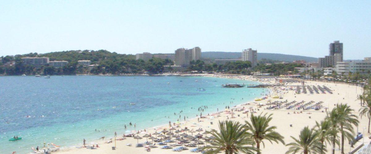 Strand von Magaluf