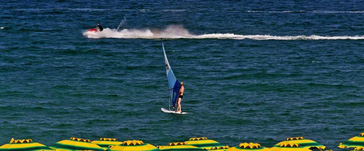 Surfer Sonnenstrand Bulgarien