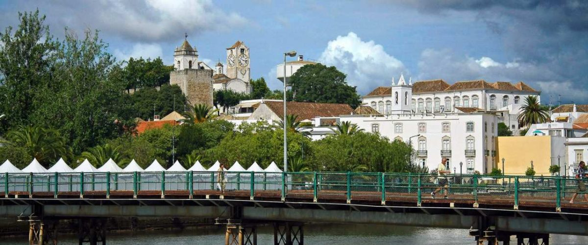 Tavira Algarve Brücke