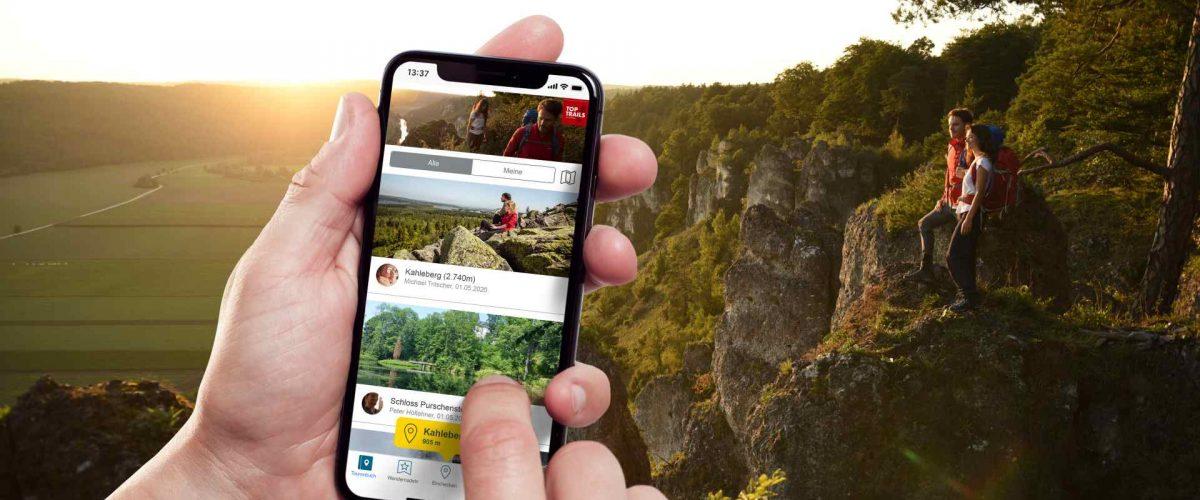 Top Trails of Germany Digitale Wandernadel