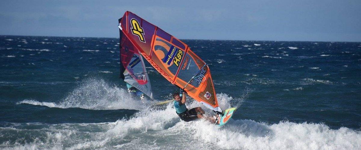 Windsurfer vor Gran Canaria
