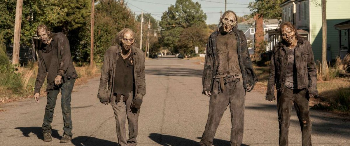 Zombies aus The Walking Dead World Beyond